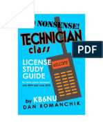 2014 No Nonsense Ham Tech Study Guide v20