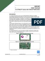 DM00190424 – UM1907 – STM32F7 User Manual