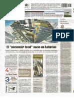 20151007 El Ascensor Total Nace en Asturias LNE