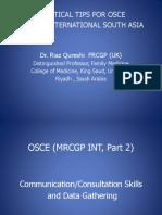 OSCE Preparation Tips