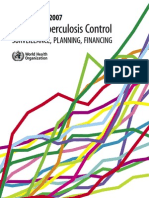 Global tuberculosis control 2007