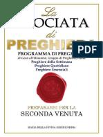 Programma Completo di Preghiera  Gesu' All'Umanita', Italia