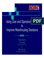 Warehouse Cost Calculation