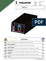 ESP1-A Controller User Manual 6159933610-04 A