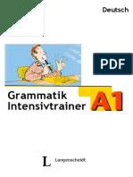 grammatik intensivtrainer a1