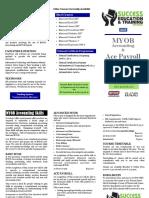 MYOB Brochure 2015