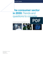 The Consumer Sector in 2030