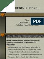 1. Diphtheria [Difteri]