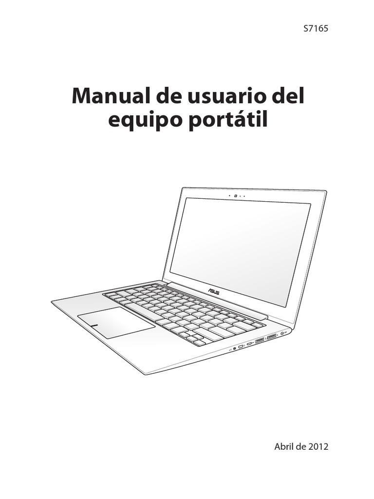 Manual de usuario del equipo portátil