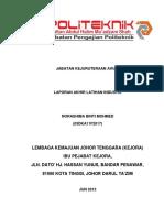 Report Akhir Latihan Industri