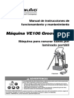 Ve106-Spa Ranuradora Victaulic