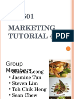 Marketing Tut 4
