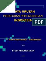 Tata Urutan Perundang-undangan