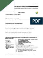 Workbook - Risk Register