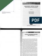 Merchant, K ; Van Der Stede, W. Management Control Systems. Cap. 10