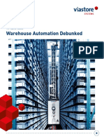 Viastore eBook 15 Myths About Warehouse Automation