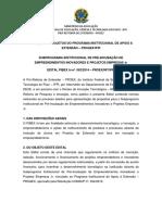 Edital Pibex in 2014 17.09