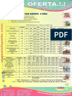 Programa San Andres Pasajero Valdivia