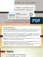 004lect 1-12-2015 Claims in FIDIC - CYLFEx Workshop