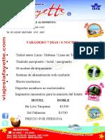 Tour Varadero 2012