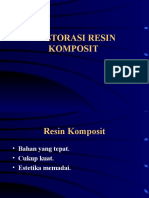 Copy of Restorasi Resin Komposit Pada Fraktur Gigi Depan