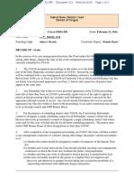 2-12-16 ECF 151 U.S.A. v . Bundy et al - Scheduling Order