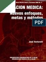 Educacion Medica Nuevos Enfoques, Metas y Metodos