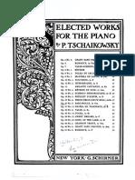 Barcarolle Op.37 nº 6 Tschaikowsky