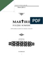 Istoria Politiei Romane - Martirii