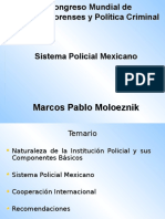 Sistema Policial Mexicano.dr.Moloeznik