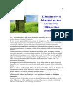 -Biodiesel y Bioetanol