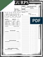 Generic Character Sheet