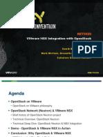 Vmworld 2013 Vmware Nsx Integration With Openstack