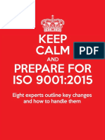 Keep Calm and Prepare for Iso 9001 2015