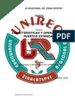 CARACTERISTICAS Y OPERACION DE PUERTOS STANDAR.docx