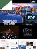 EOS 700D Brochure Web