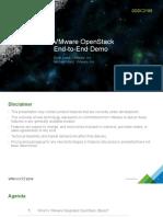 Vmworld 2014 Vmware Openstack
