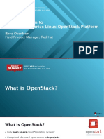 An Introduction to Red Hat Enterprise Linux Openstack Platform