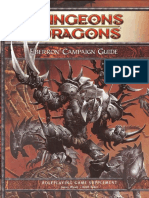 Dnd 4th Eberron Campaign Guide