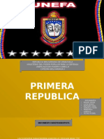 Primera Republica