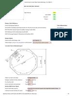 Vertical Vessel Circular Pattern Anchor Bolt Design - ACI 318M-14