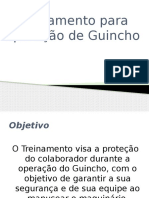 Treinamento Operador Guincho COLUNA