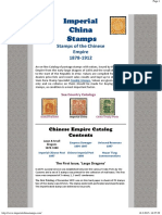 Stamps of the Chinese Empire Dragons