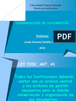 Conservación Documental