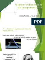 Aspectos generales Espectroscopia