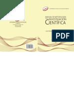 Manual-metodologia Investigacion Cientifica