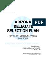 ArizonaDemocratic_2016DelegateSelectionPlan