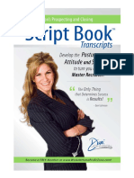 Prospecting & Closing Script Book