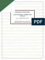 Research Proposal Cloud Computing