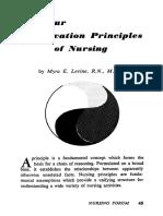 Levine 1967 Nursing Forum